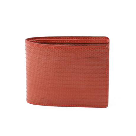 Billfold Wallet (Red)