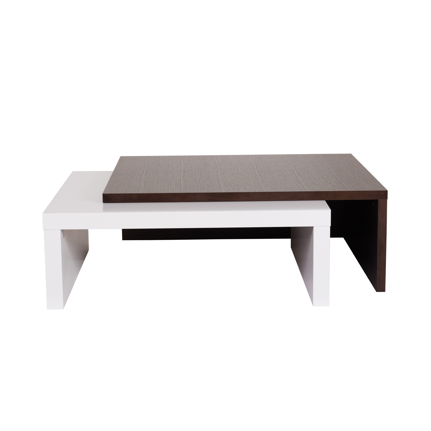 Blues Coffee Table Chocolate Pure White Temahome Living Touch Of Modern