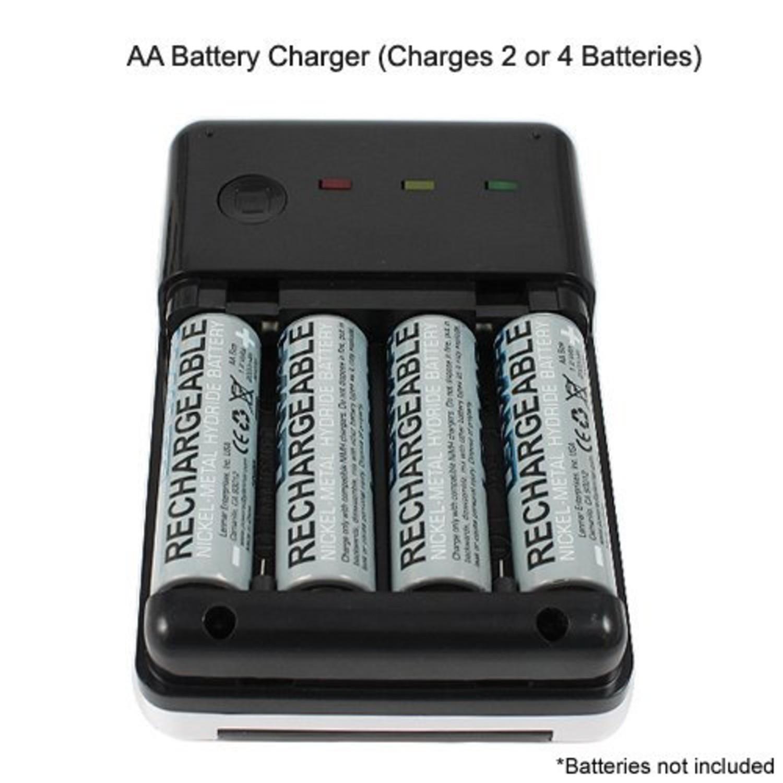 Xtg Solar Aa Aaa Battery Charger And Tester Lenmar