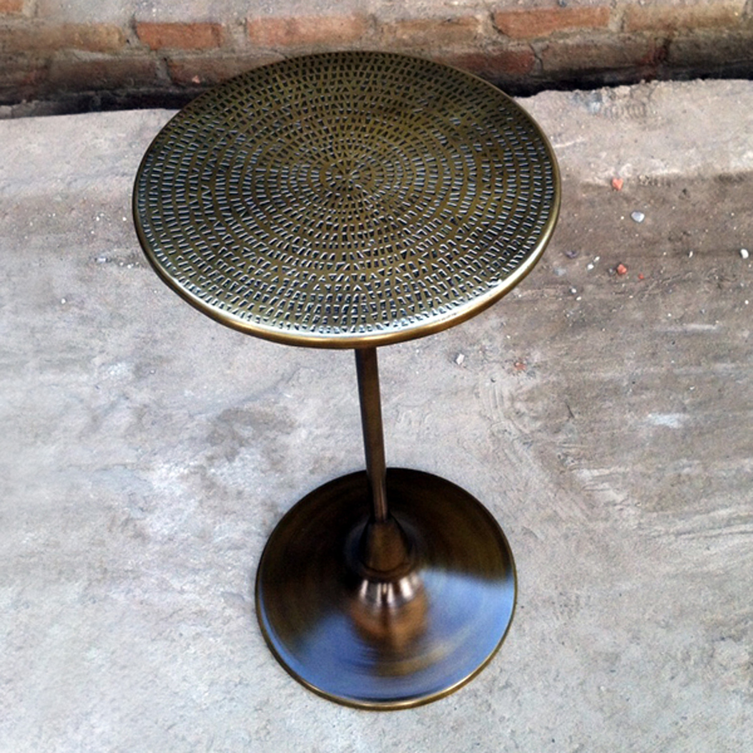 Spindle Side Table (Bronze)