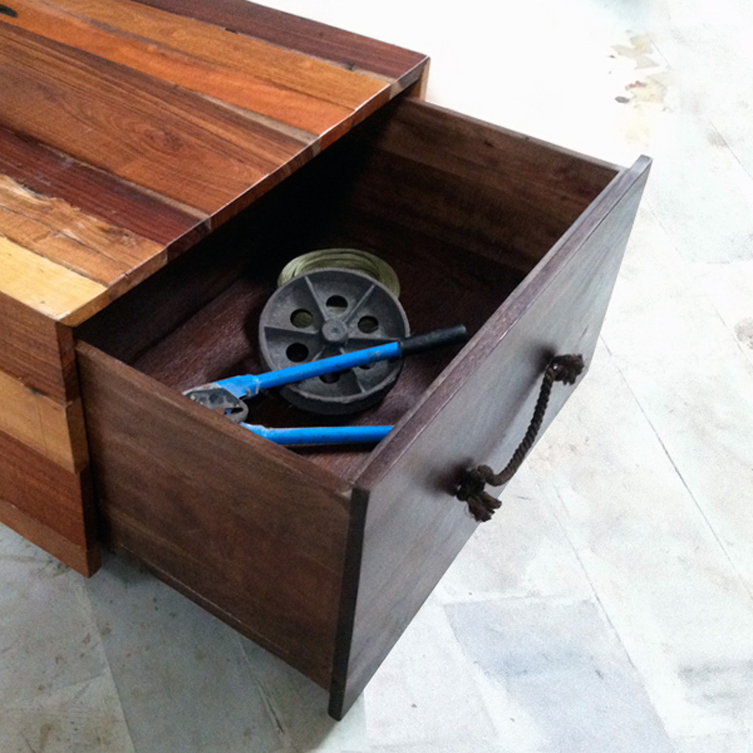 Reclaimed Crate Coffee Table Sobu Touch of Modern