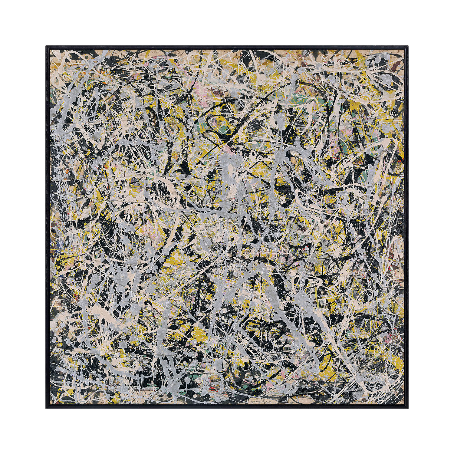 Number 4 1949 pollock touch of modern for Jackson pollock coloring page