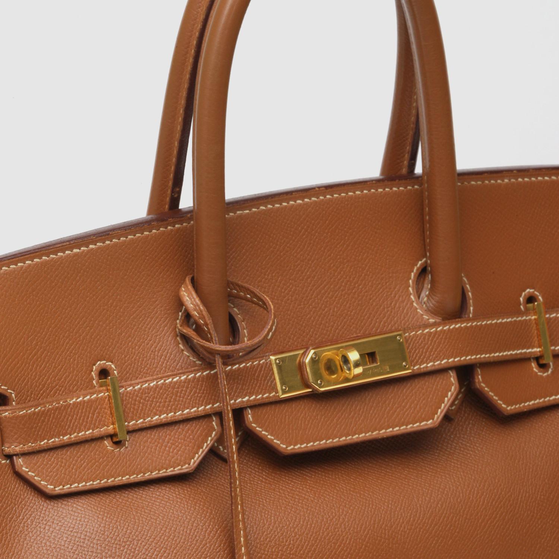 6a2f5460e2 Hermès Birkin 35 Epsom Gold Bag    c - Vintage Hermès - Touch of Modern