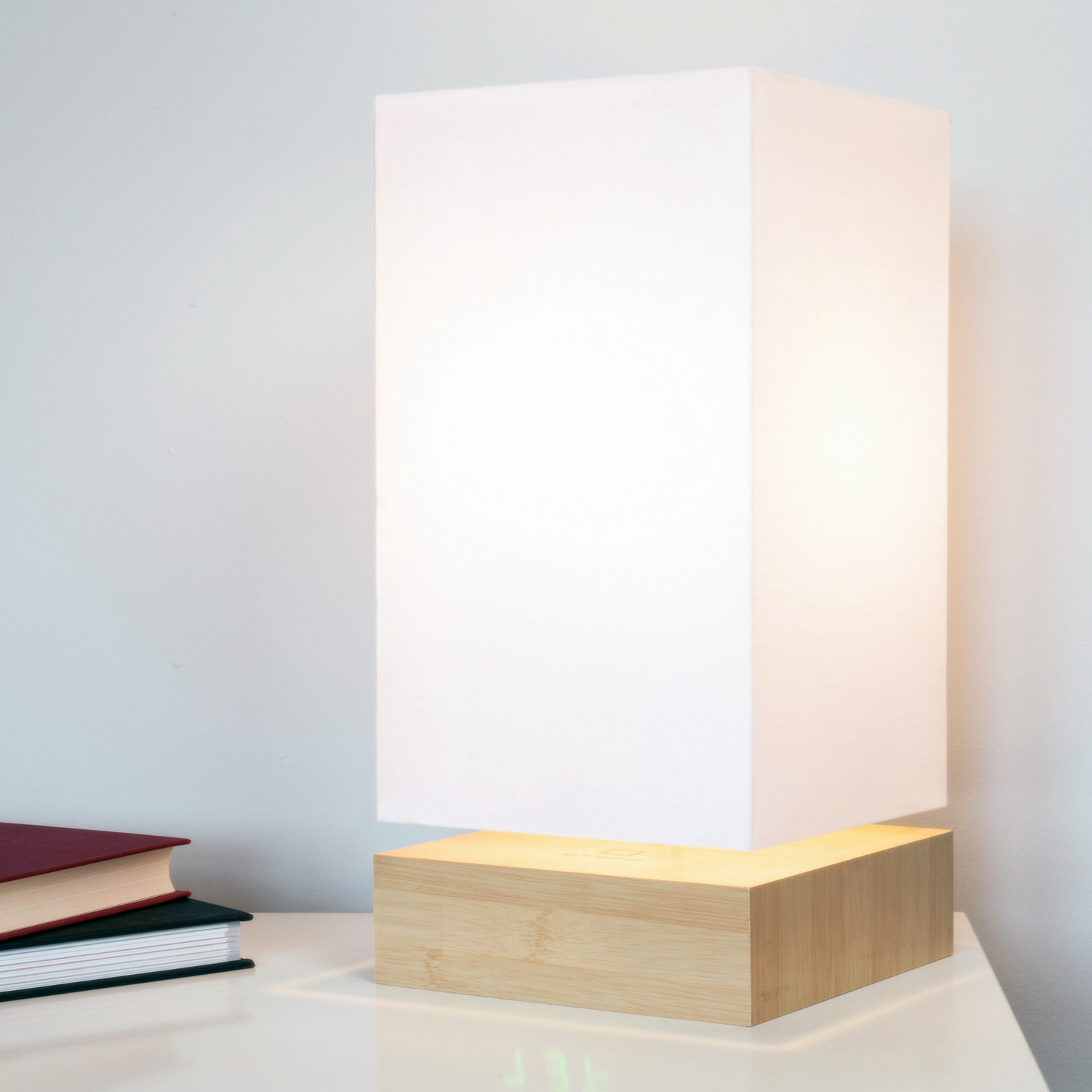 Click clock lamp green led beech gingko eco for What is touchofmodern