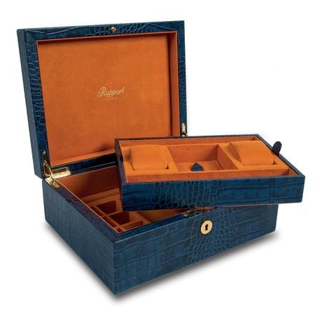 Large Watch & Jewelry Box (Black)