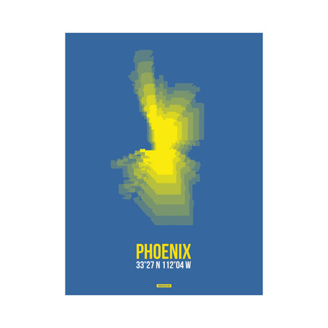 Phoenix Radiant Map (Yellow, Blue)