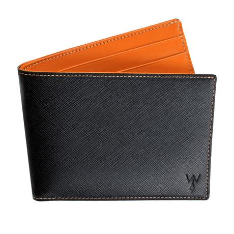 Wurkin RFID Blocked Slim Wallet (Orange)
