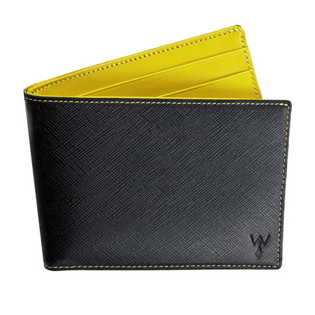 Wurkin RFID Blocked Slim Wallet (Yellow)