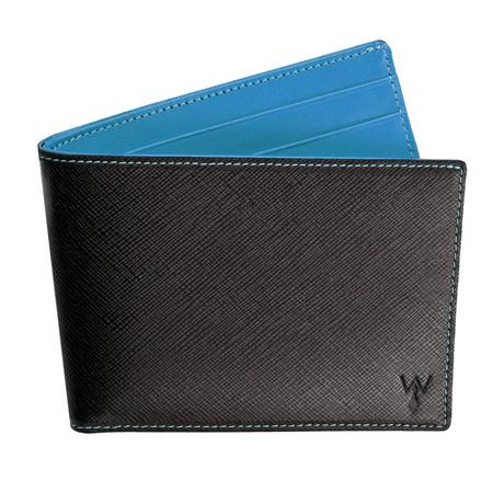Wurkin RFID Blocked Slim Wallet (Light Blue)