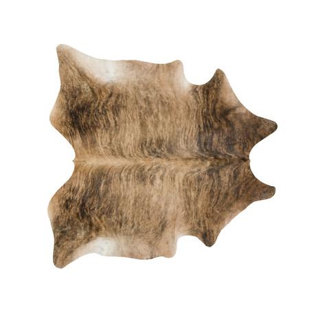Natural Cowhide Cognac Brindle Saddleman S Of Santa