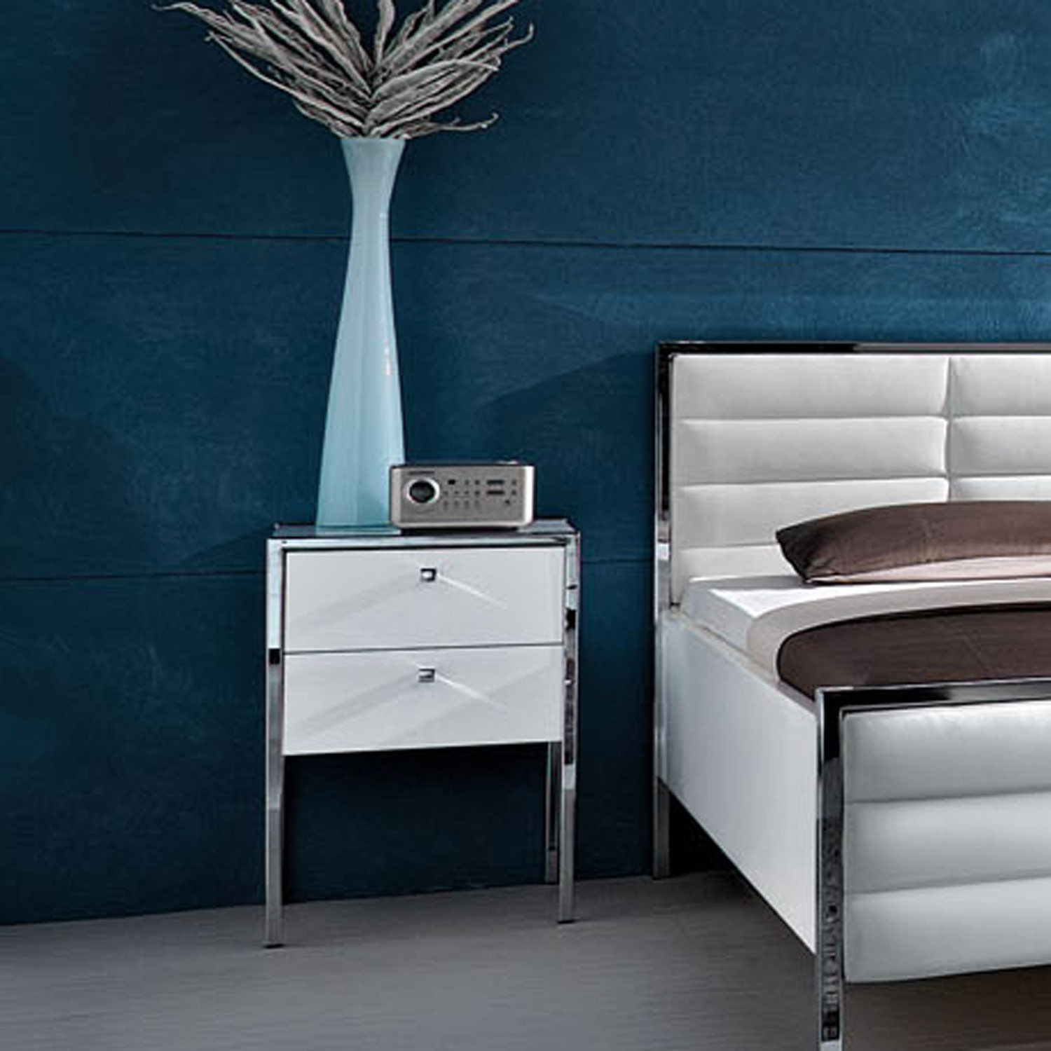 Trenta Nightstand Tall White The Collection Touch of Modern