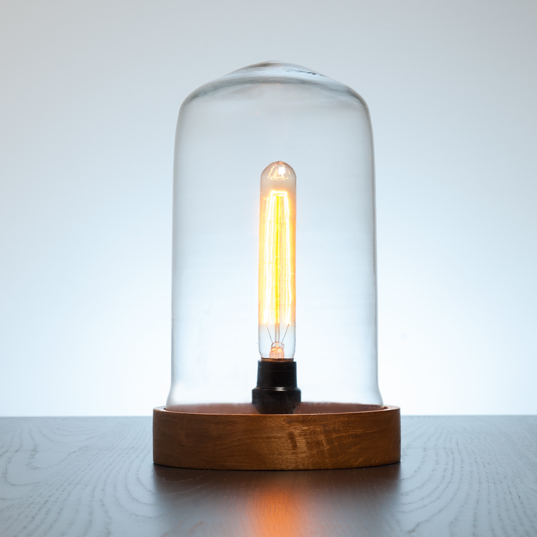 Ujala Dome Lamp // Long Edison Bulb