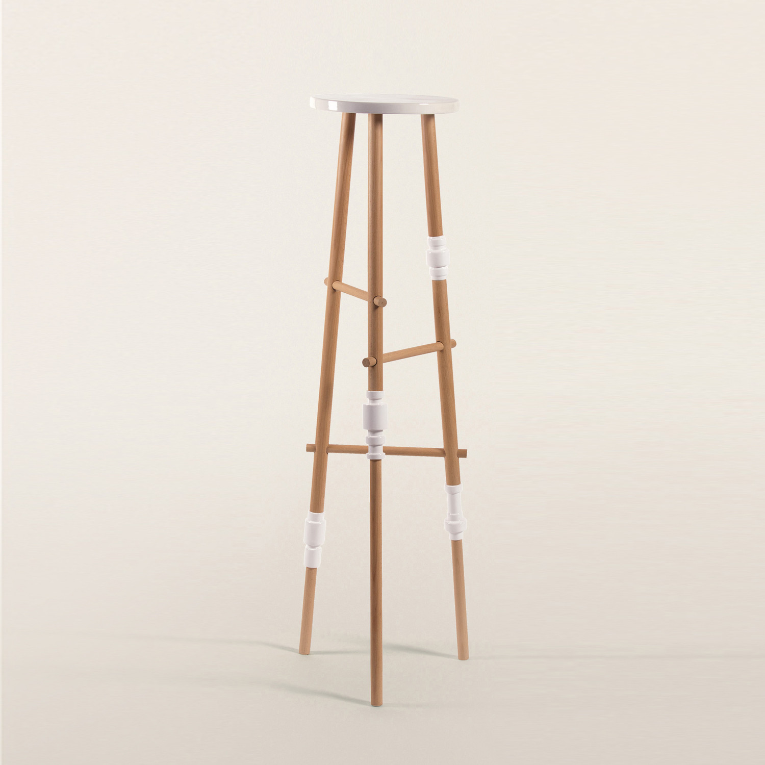 turn beechwood porcelain tripod seletti home furnishings touch of modern. Black Bedroom Furniture Sets. Home Design Ideas