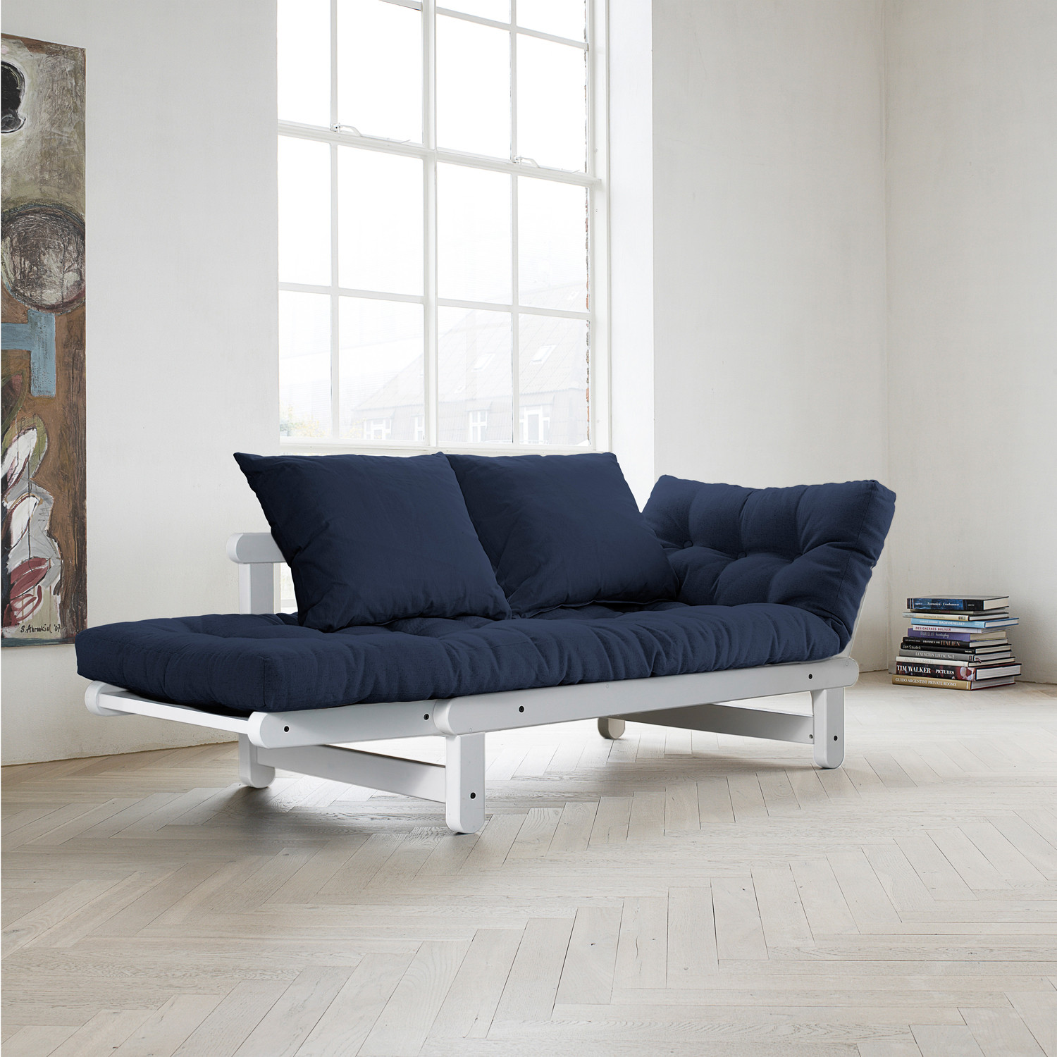 Fresh Futon Beat Navy