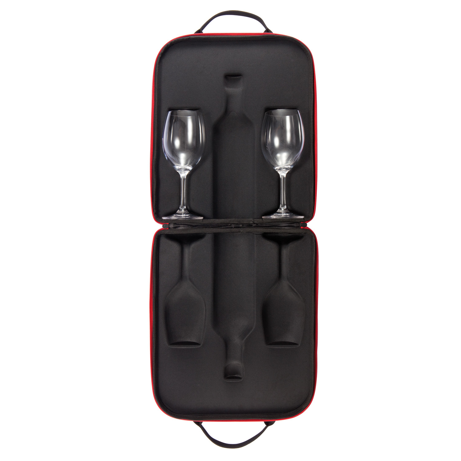 swirl wine carrier xd design barware touch of modern. Black Bedroom Furniture Sets. Home Design Ideas