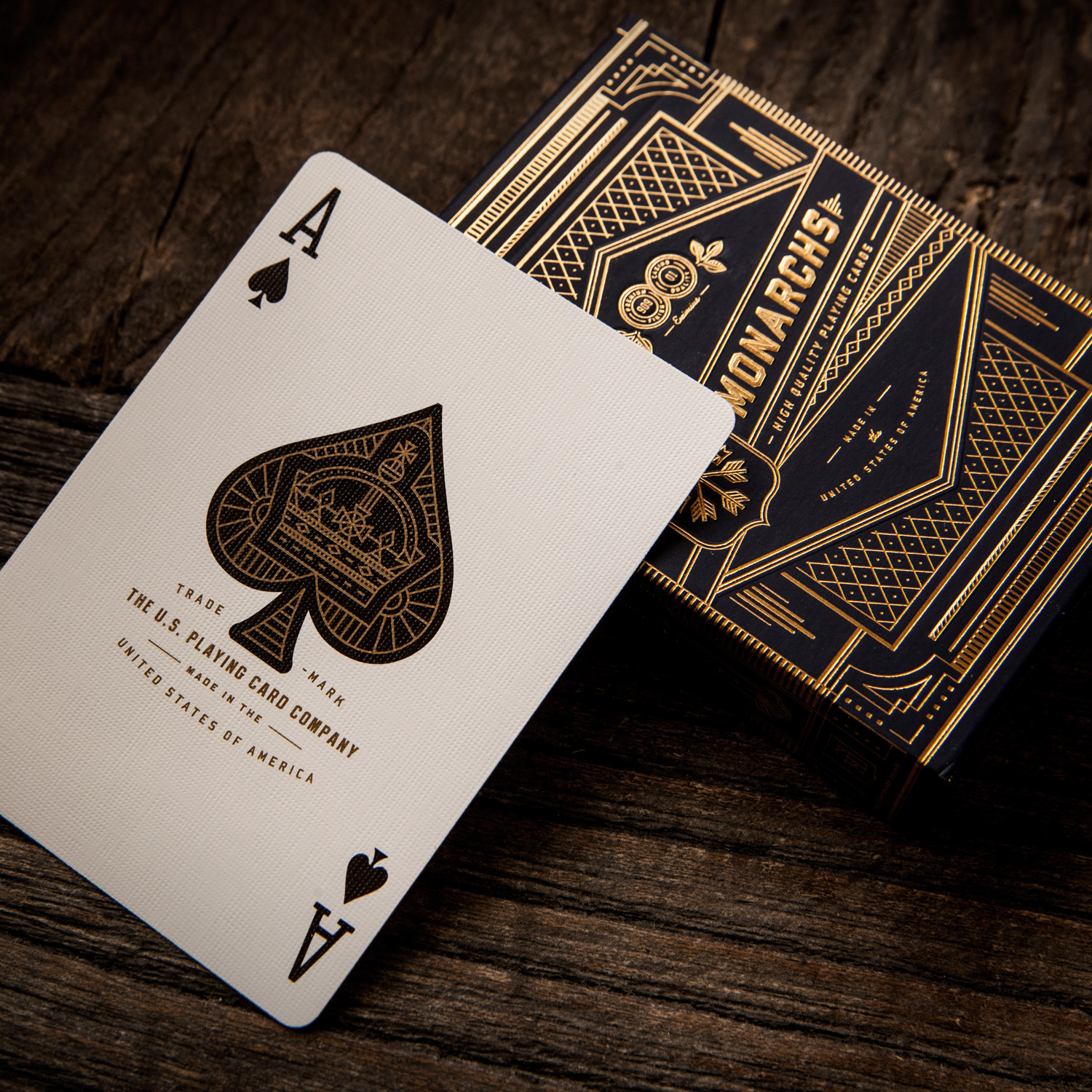 Monarch Playing Cards 2 Deck Set Theory11 Touch Of
