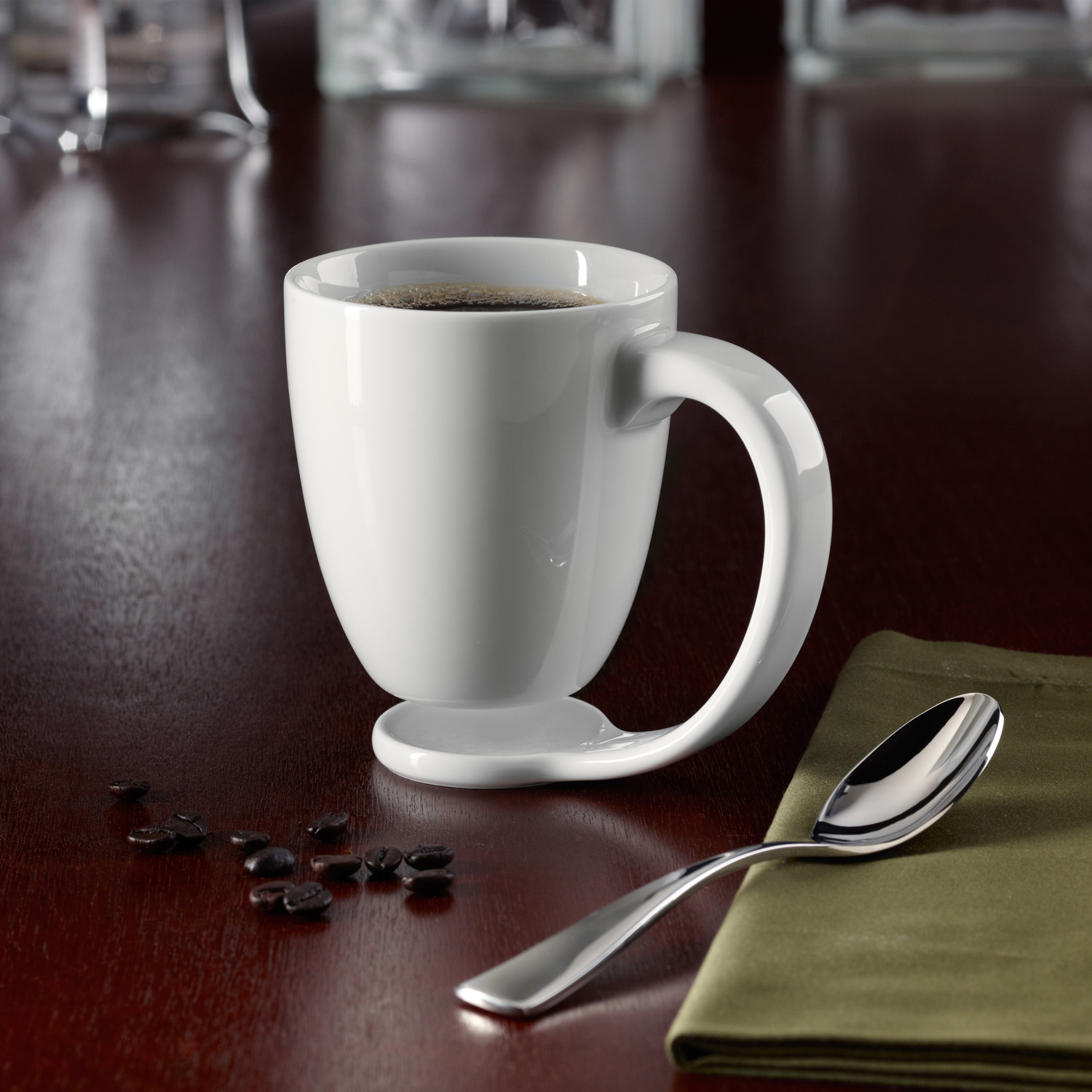 modern mugs - floating mug the floating mug touch of modern