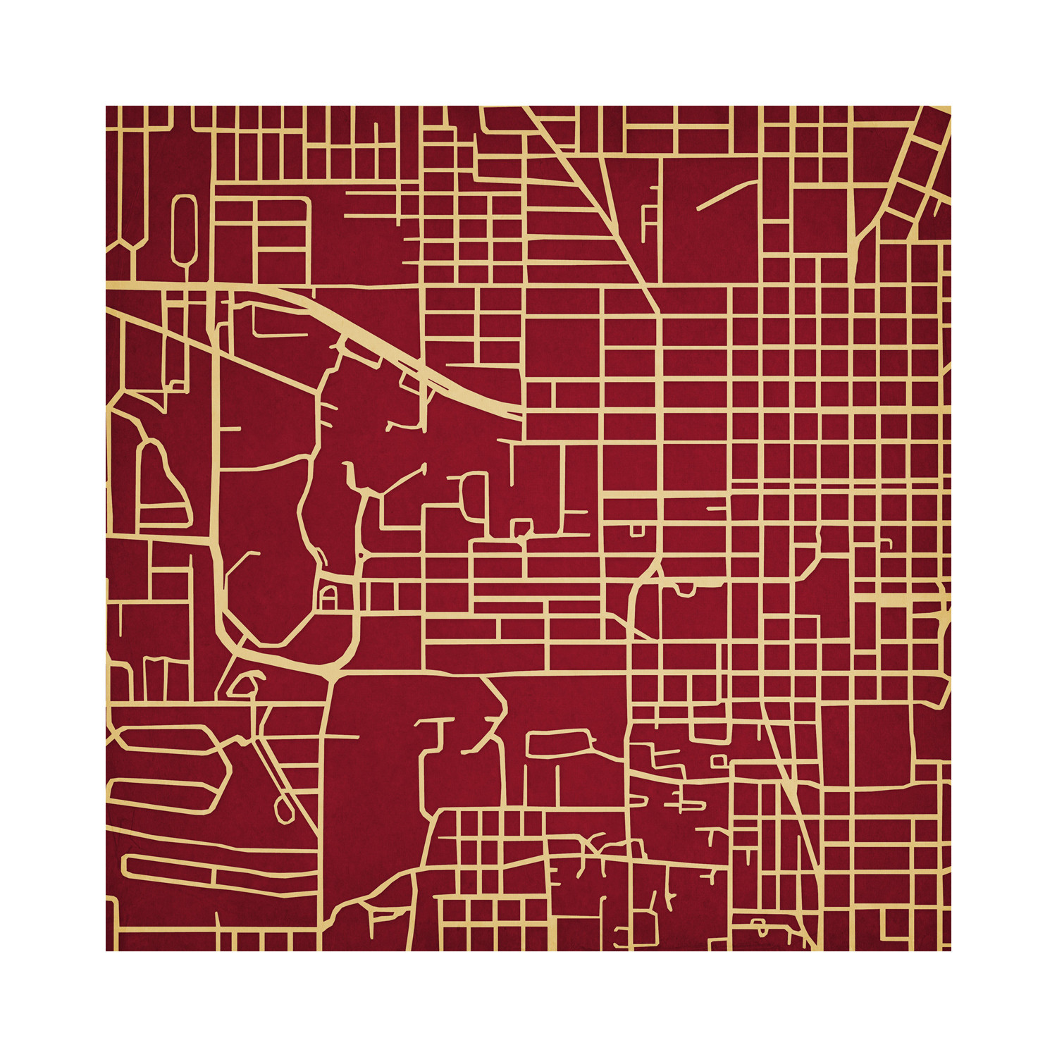 Florida State University College Campus Maps Touch Of Modern