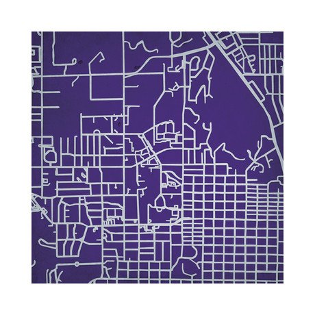 Kansas State University Campus Maps Touch Of Modern