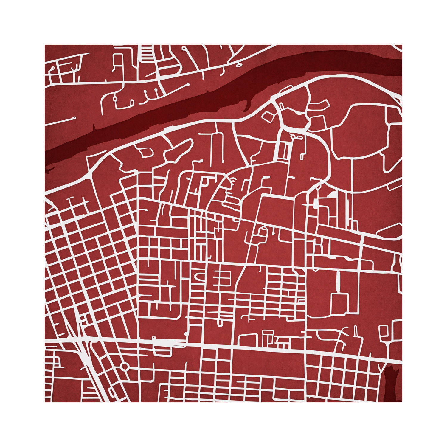 University Of Alabama Campus Maps Touch Of Modern