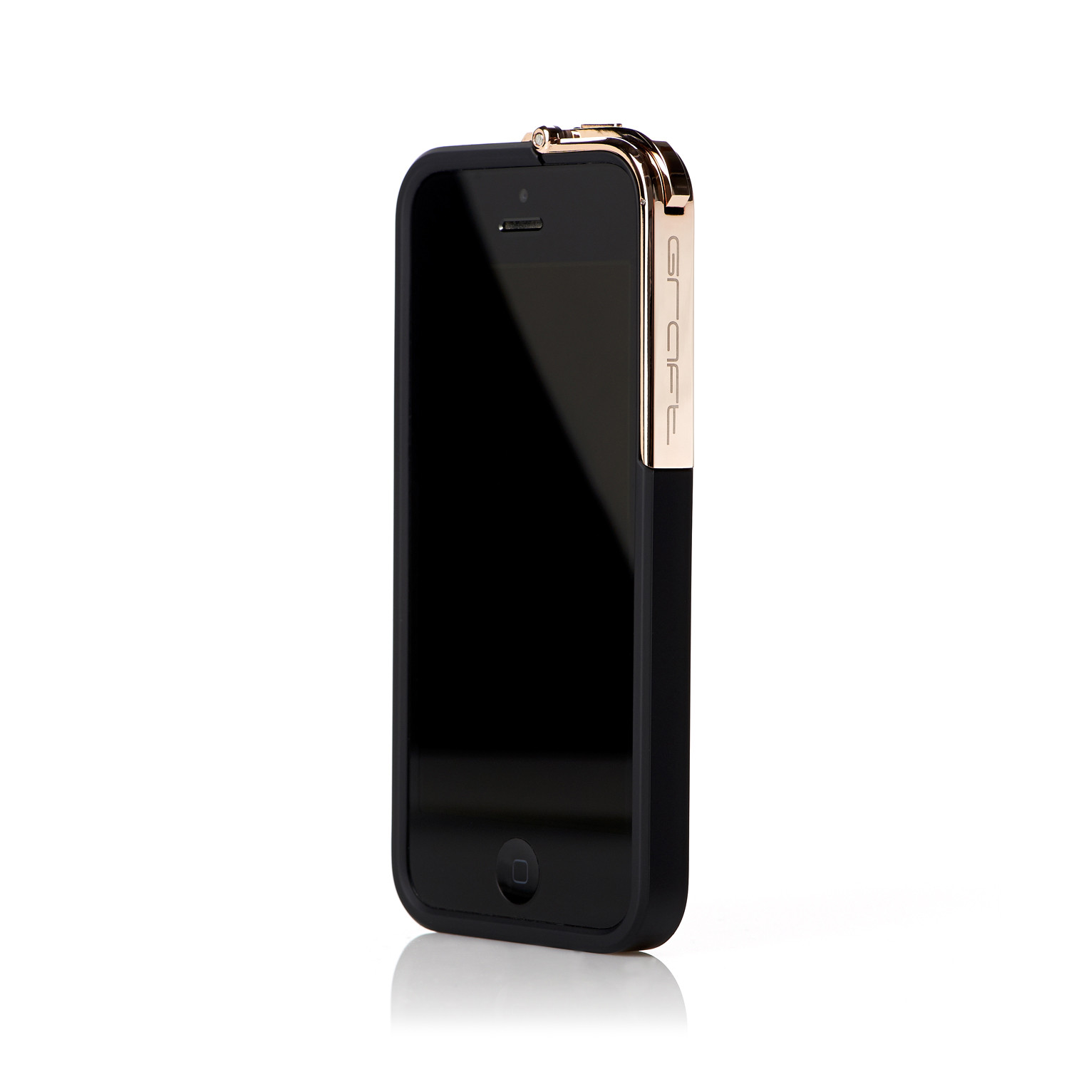 Leverage IPhone 5 5S Case Black Rose Gold Only