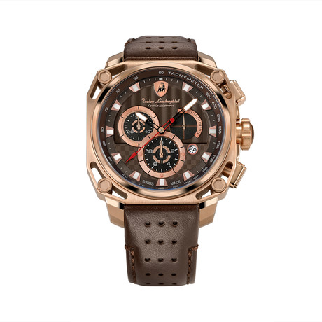 Lamborghini 4-Screw Chronograph Quartz // 4860