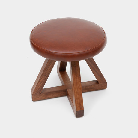 X Stool in Tobacco
