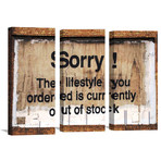 "Life Style Out Of Stock by Banksy  (26"" x 18"")"