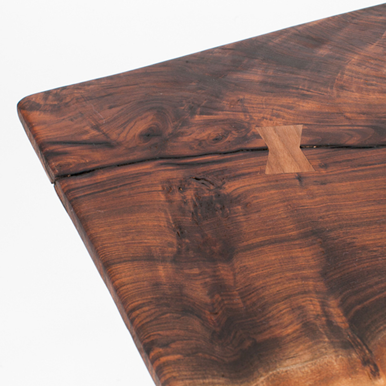 Walnut slab coffee table - Claro Walnut Slab Coffee Table