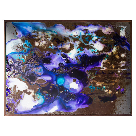 Azure Spring // Sheet Metal Artwork