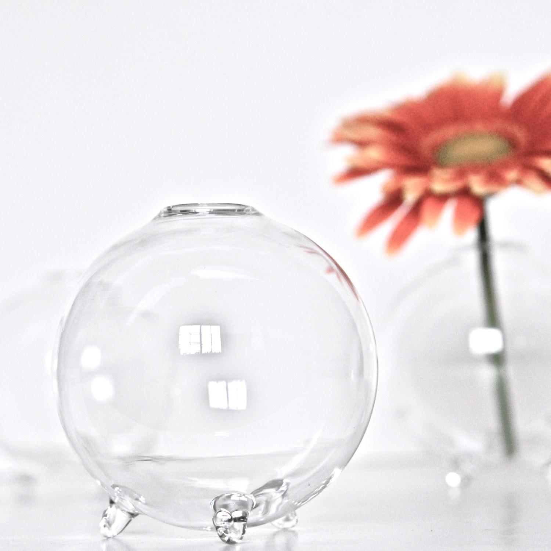 Glass bubble ball vase pair bl industries touch of modern glass bubble ball vase pair reviewsmspy