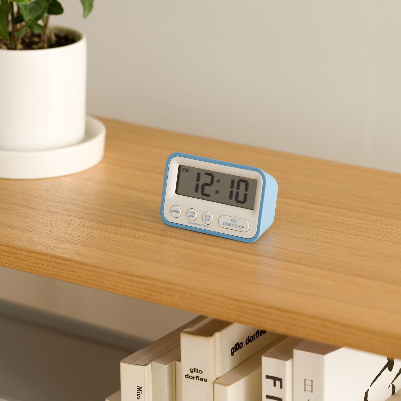 TIME // Timer Clock (Blue) - Mondo Design - Touch of Modern