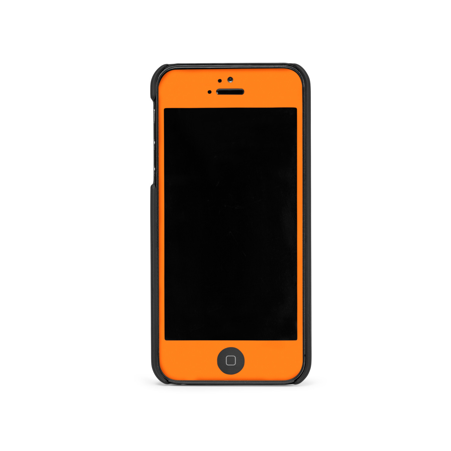 glow hard case orange iphone 5 5s iglow by slickwraps touch of modern. Black Bedroom Furniture Sets. Home Design Ideas