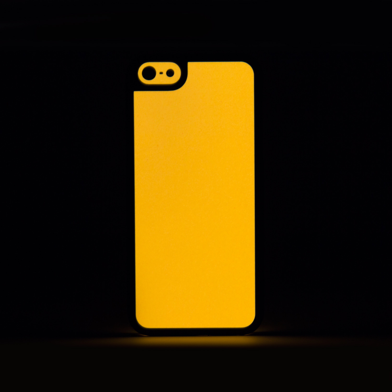 glow hard case orange iphone 5 5s slickwraps glow cases touch of modern. Black Bedroom Furniture Sets. Home Design Ideas
