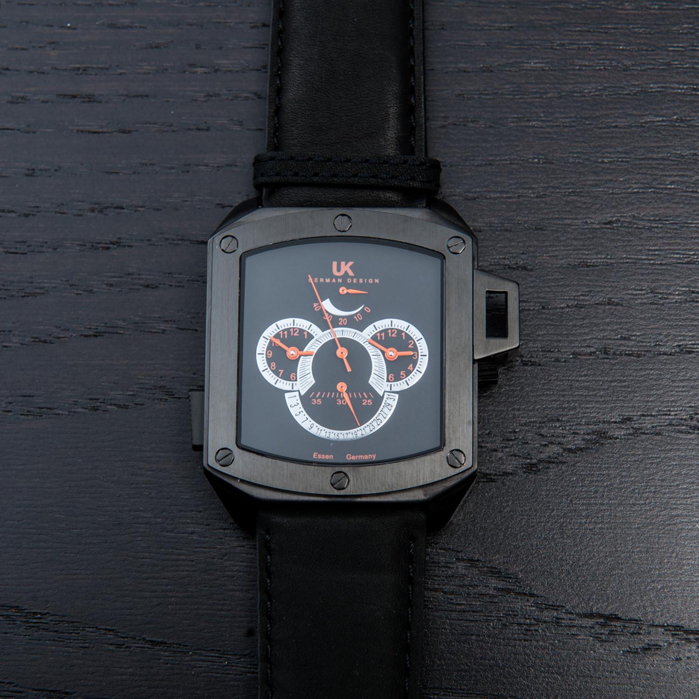 Uhr Modern uhr kraft helicop iii automatic black uhr kraft touch of modern
