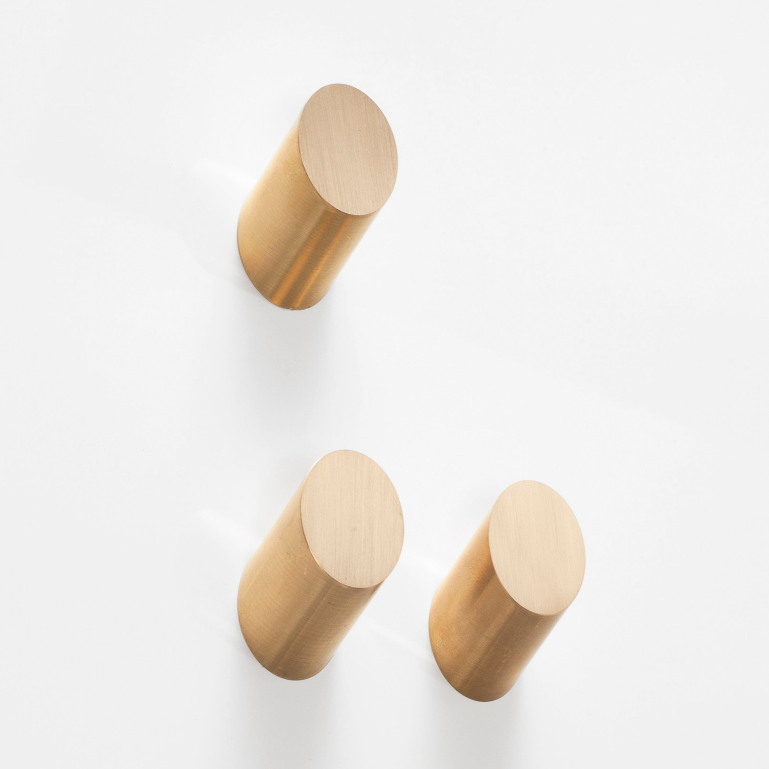 Solid Brass Wall Hook // Round