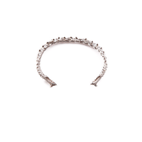 Spine Bangle (Sterling Silver)