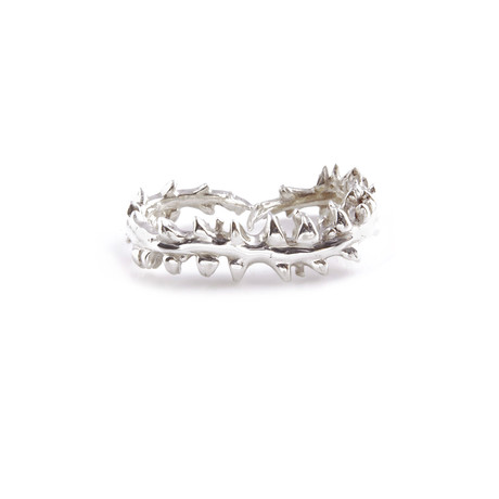 Razorfish Knuckle Duster (Sterling Silver)