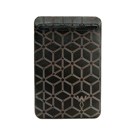 RFID Leather Laser // Credit Card Wallet