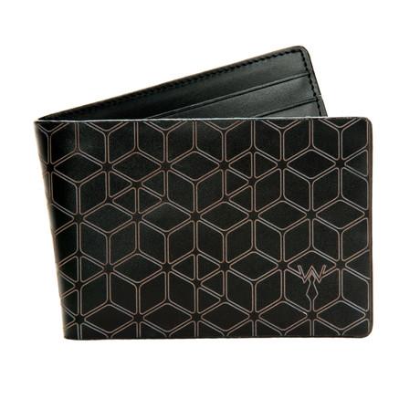 RFID Leather Laser // Slim Wallet