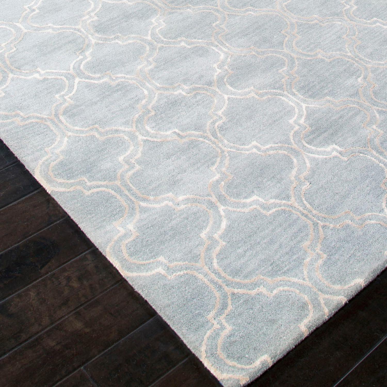 Hand-Tufted Wool // Art Silk Hampton Rug (2' X 3