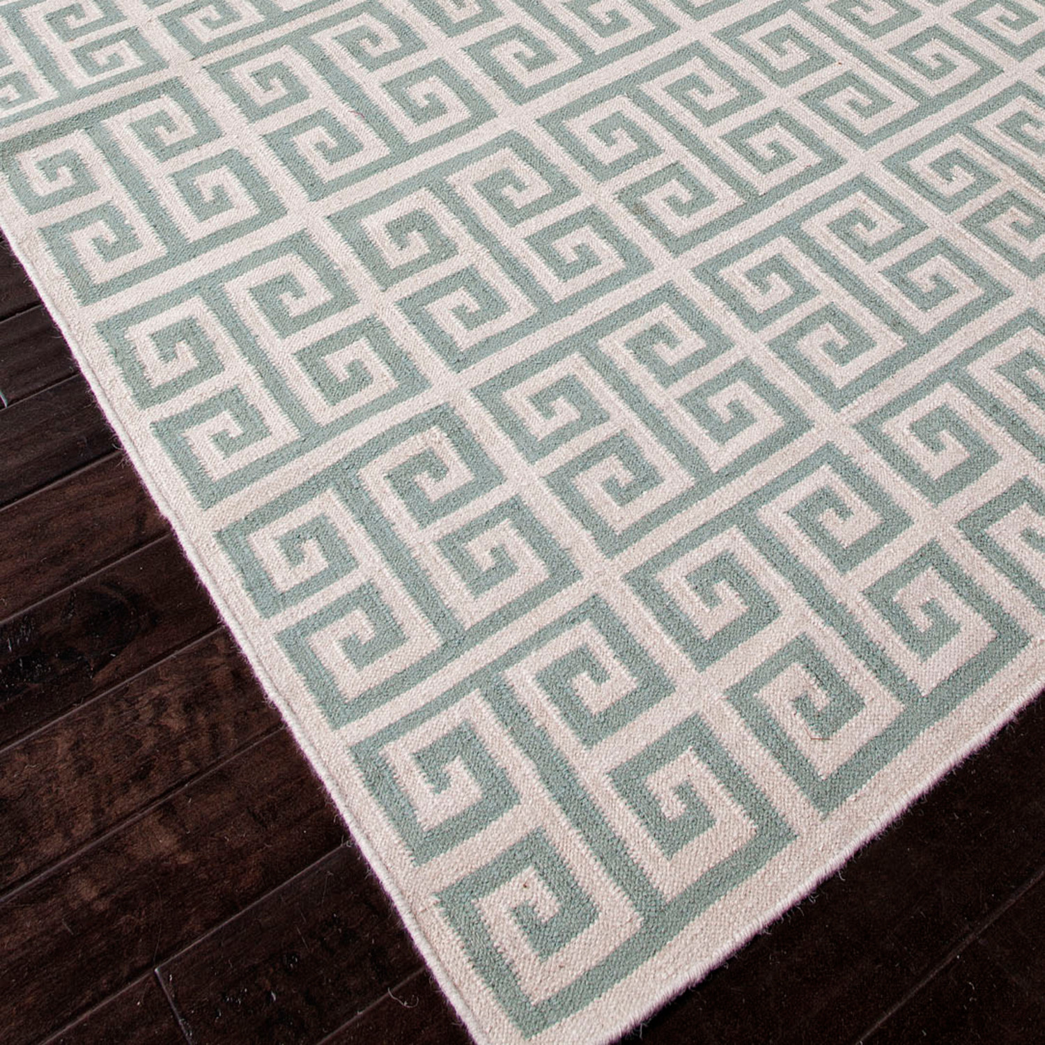 flat-weave wool melina rug (5' x 8') - jaipur rugs - touch of modern