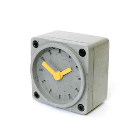 Timebrick // Grey & Yellow