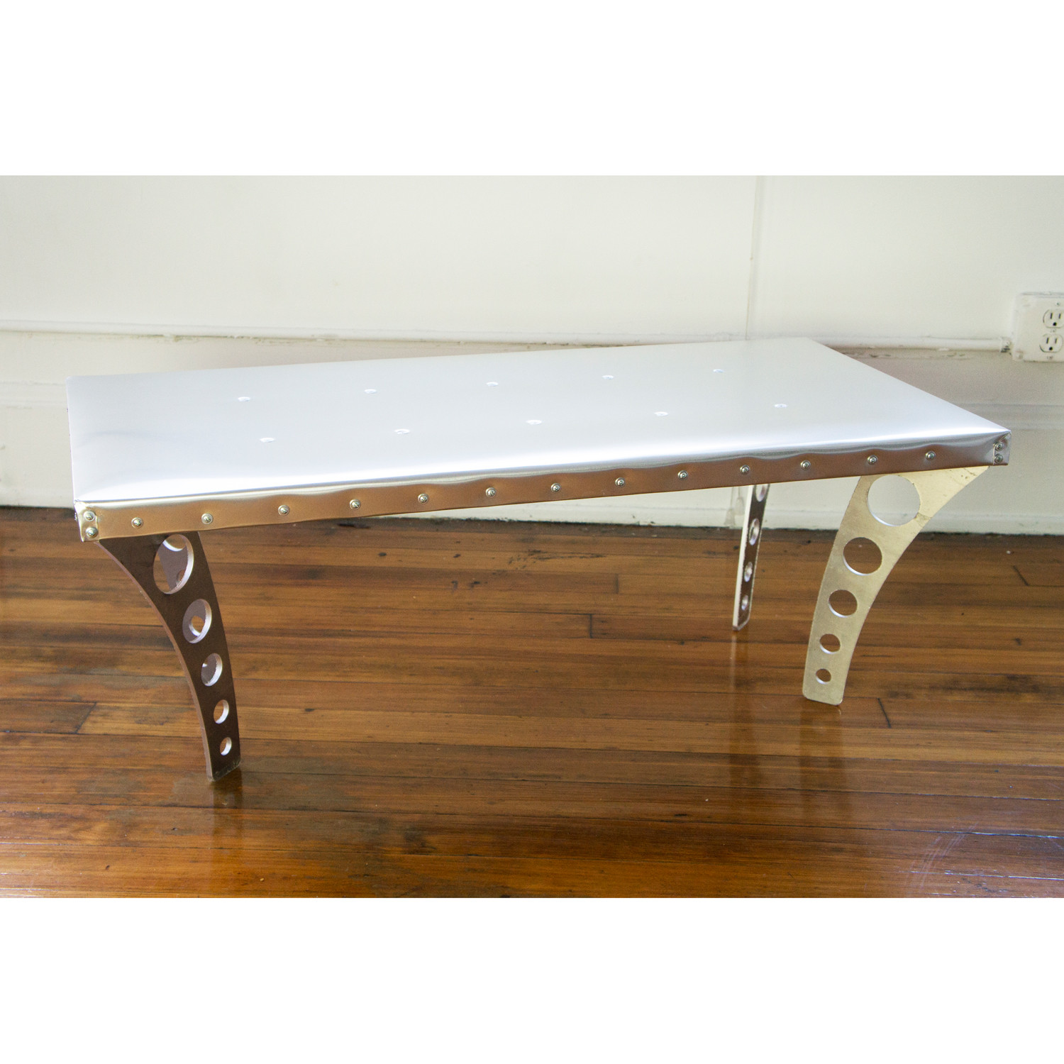 Jetset Coffee Table Aluminum Ramona Metal Touch of Modern