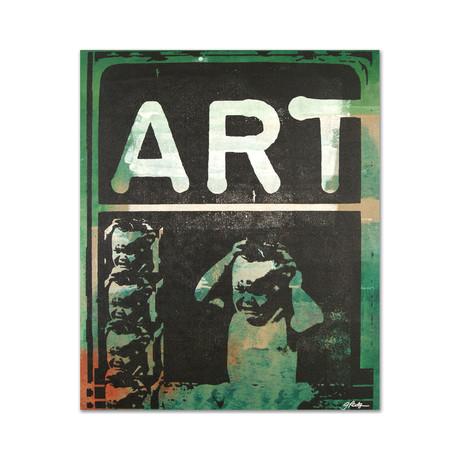 Art (Green + Tan)
