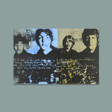 The Beatles (Grey + Blue)
