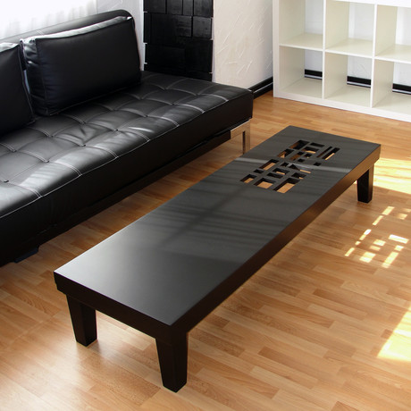 Classic Black // Coffee Table