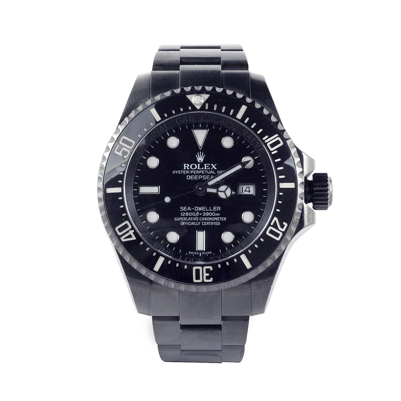 Rolex Deepsea Black Pvd Steel C 2009 2010 Custom