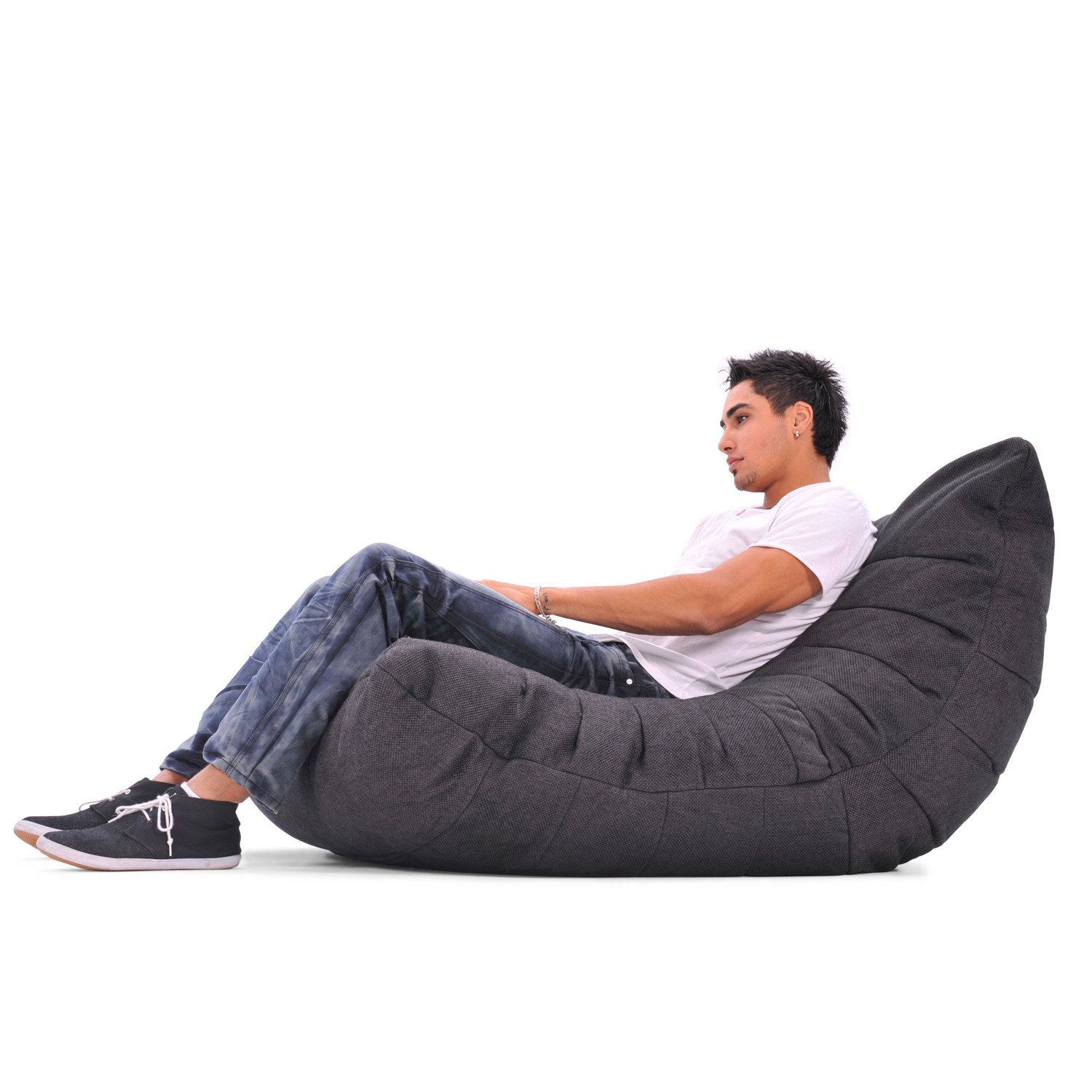Ambient Lounge acoustic bean bag chair gold class black sapphire ambient
