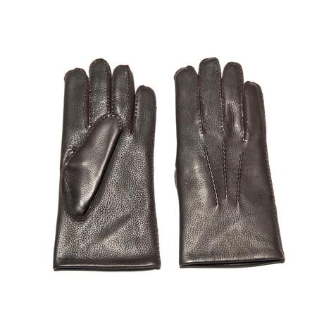 Deerskin Glove // Rabbit Lining